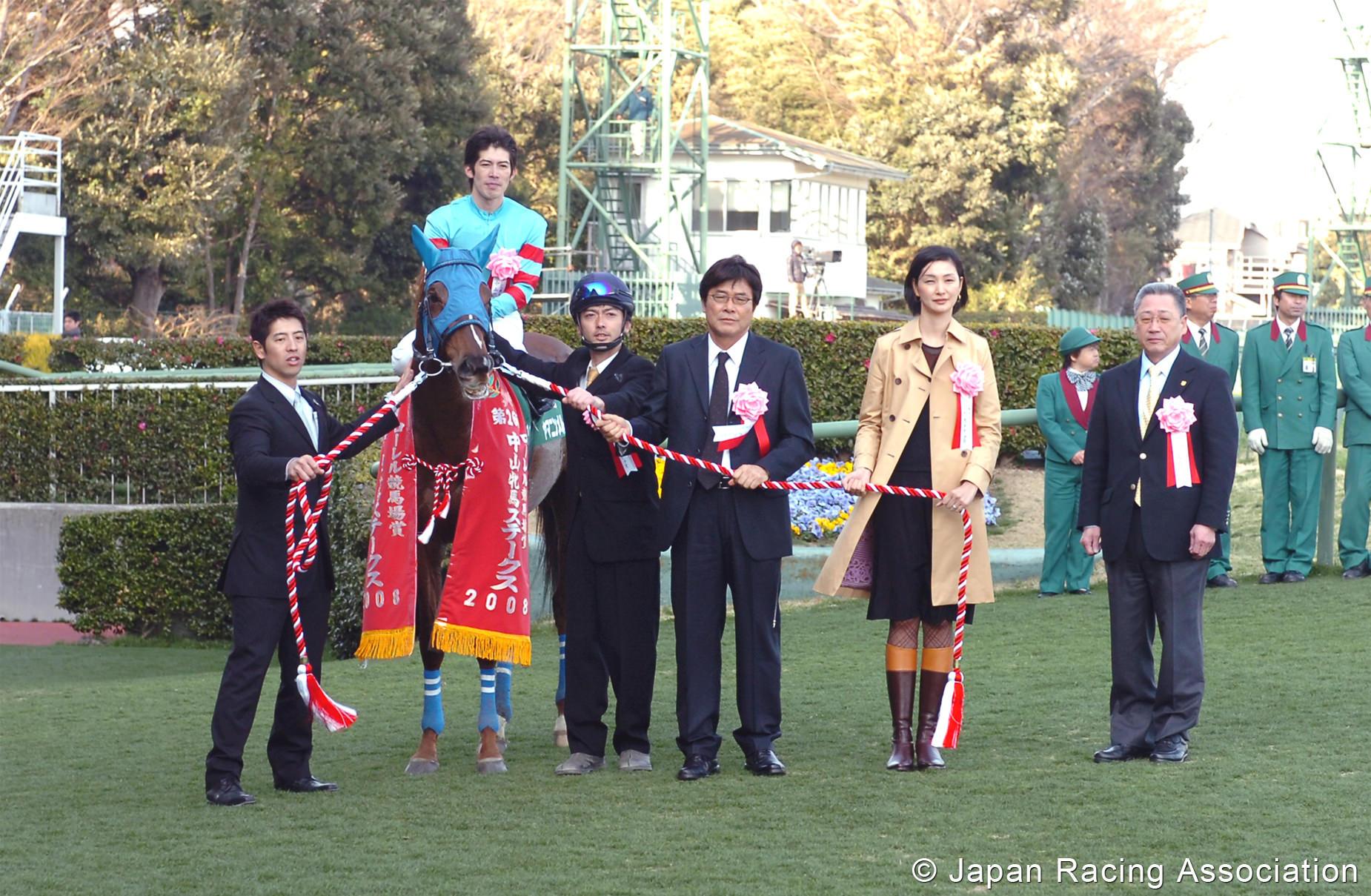 ヤマニンメルベイユ姫が中山牝馬S(GIII)を制覇 © JRA