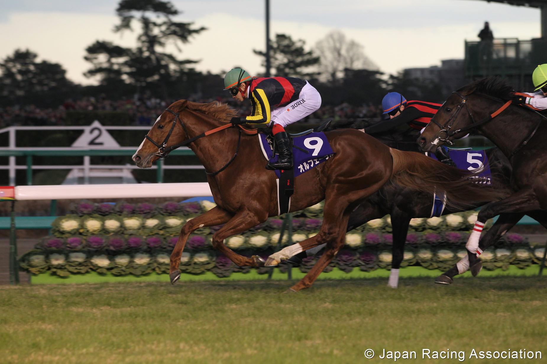 オルフェーヴルが有馬記念を制覇。4冠で2011年を締めくくる © JRA