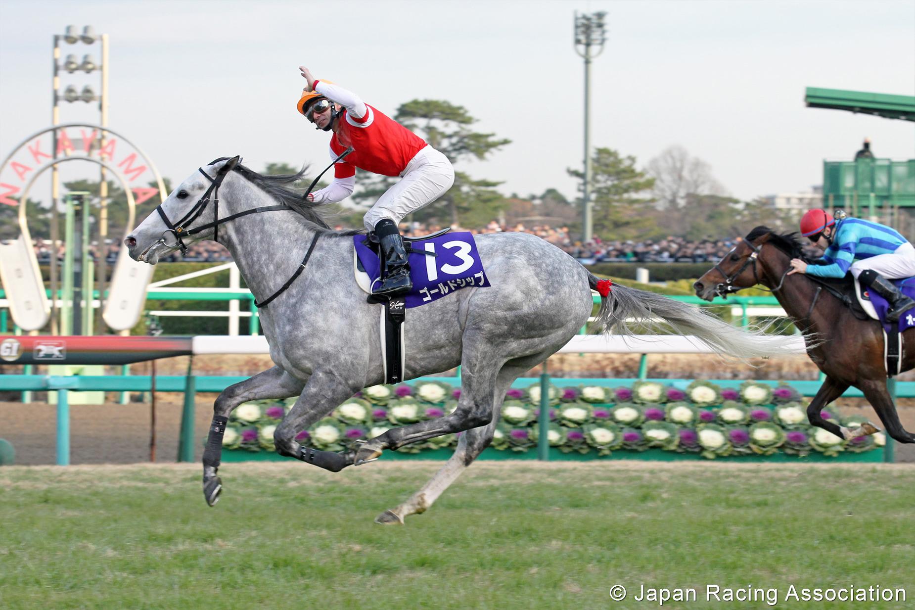 ゴールドシップが有馬記念(GI)を制覇 © JRA