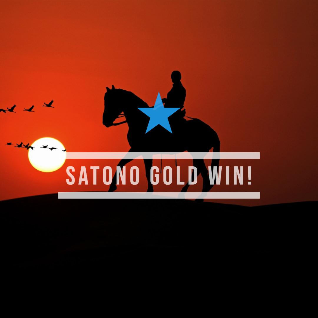 サトノゴールドがデビュー戦を快勝し、ゴールドシップがパパとしてはじめての勝利を手にする