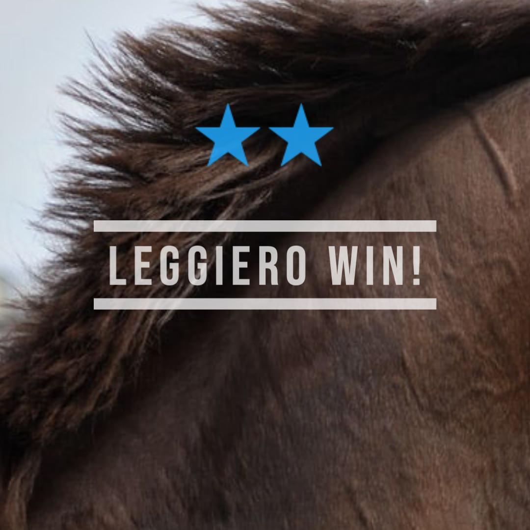 レジェーロ(メジロマックイーン曾孫世代、母ロックフェアレディ)が4角先頭で押し切り2勝目