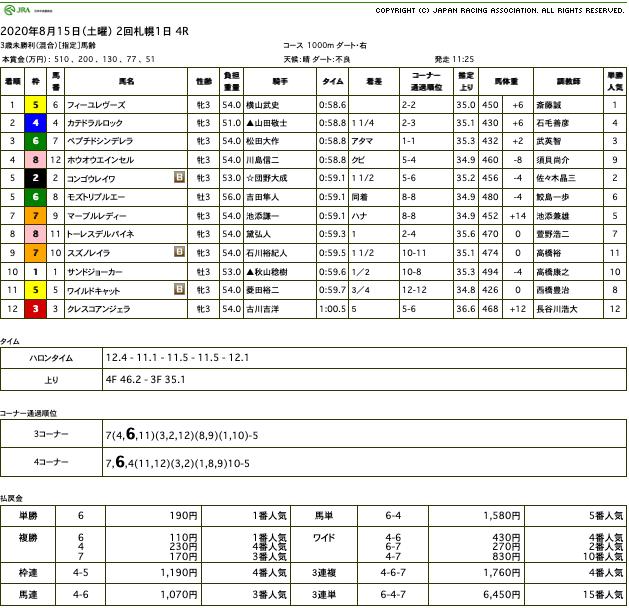 フィーユレヴーズ(オルフェーヴル産駒)が残り少ないチャンスを物にして初勝利