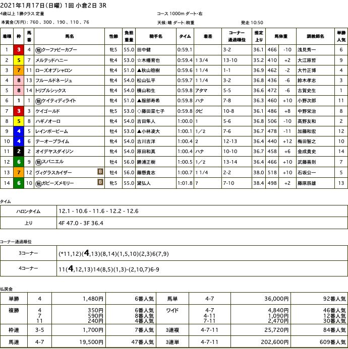 クーファピーカブー(オルフェーヴル産駒)が、お待たせしましたの中央初勝利