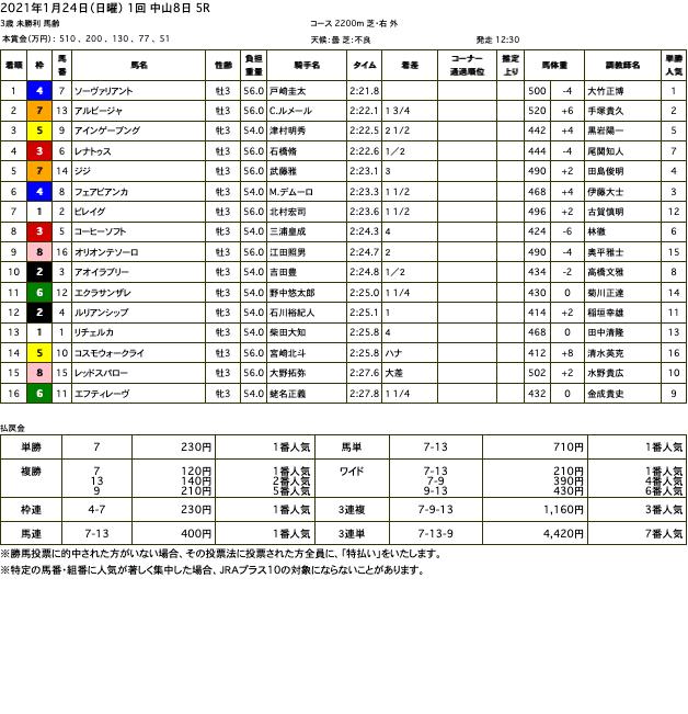 ソーヴァリアント(オルフェーヴル産駒)が積極的な競馬で白星を掴み取って初勝利