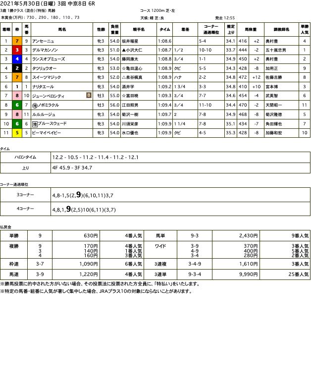 アンセーニュ(オルフェーヴル産駒)がゴール前差し切って2連勝
