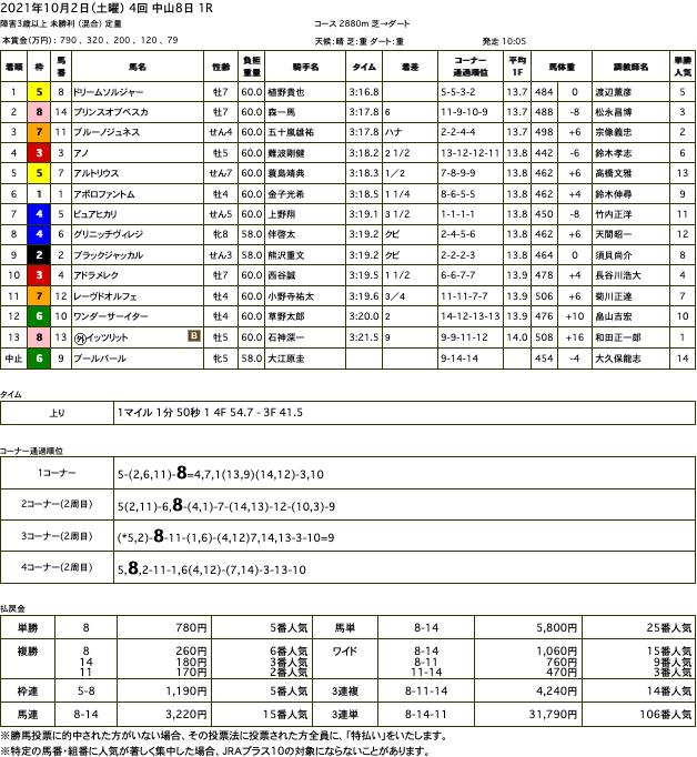 ドリームソルジャー(ドリームジャーニー産駒)が圧勝の障害デビュー