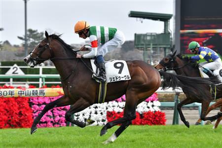 シェドゥーヴル(オルフェーヴル産駒)が荒い競馬で新馬勝ち